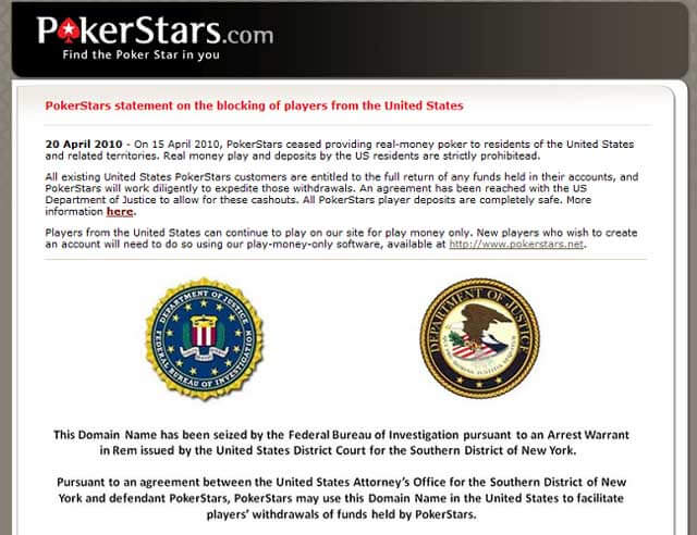 PokerStars FBI