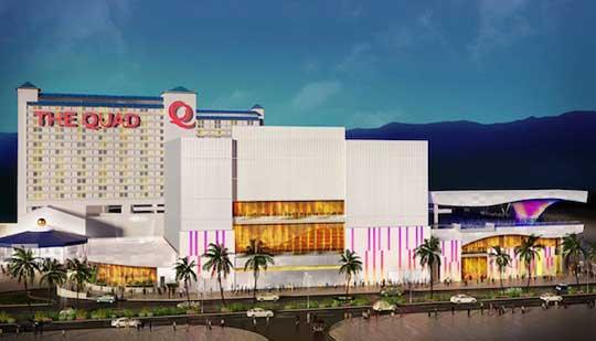 Quad Casino in Las Vegas ersetzt das Imperial Casino ende 2013