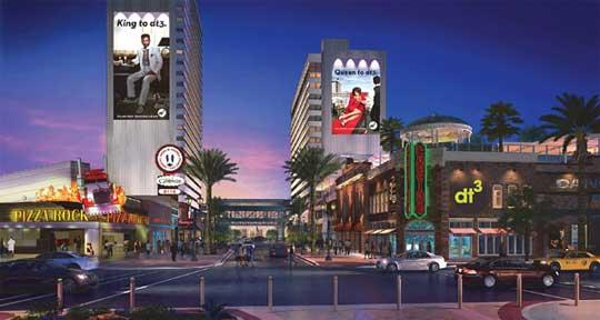 Las Vegas Down Town Gran eröffnet im November 2013
