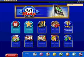 Casino Spiele auf Allslots