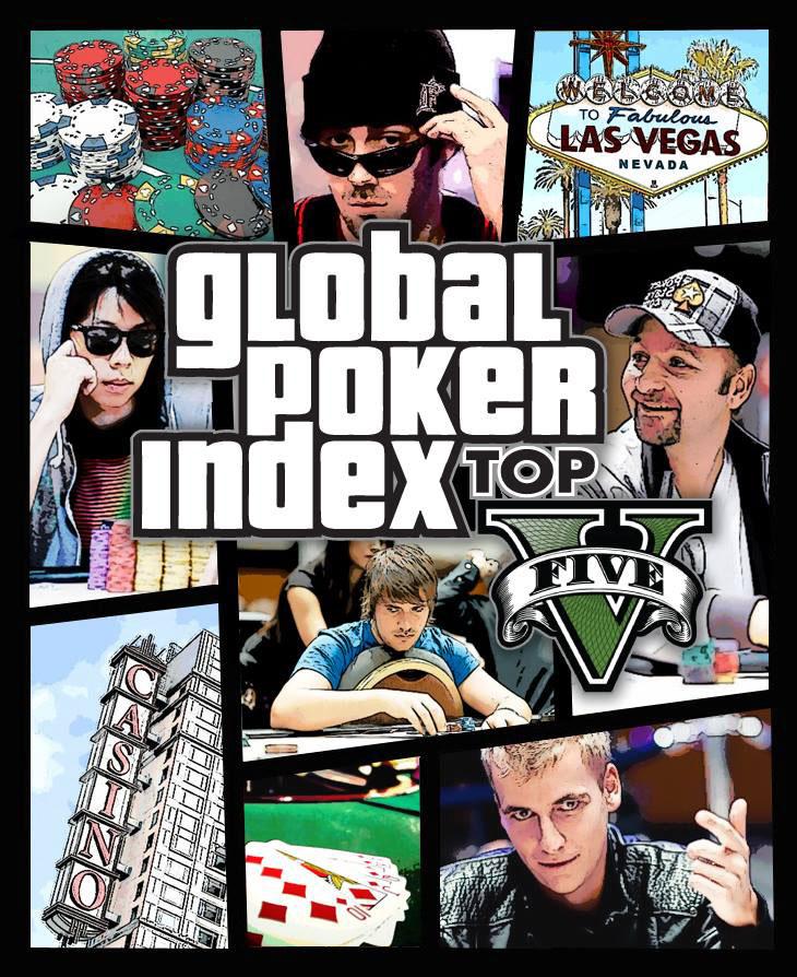 Global Poker Index: Top 5