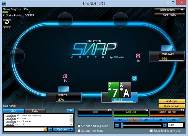Snap Poker