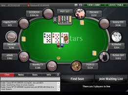 pokerstars_Tisch Layout