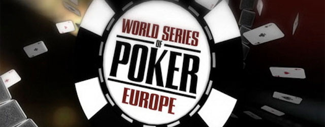 WSOP Europe Paris 2013