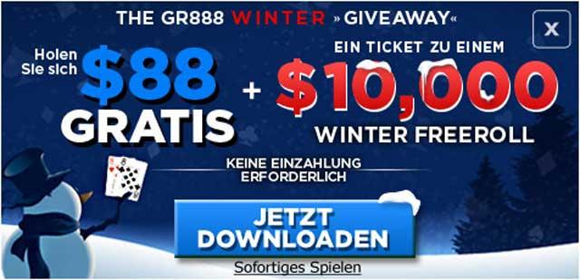 888poker Weihnachten Promo