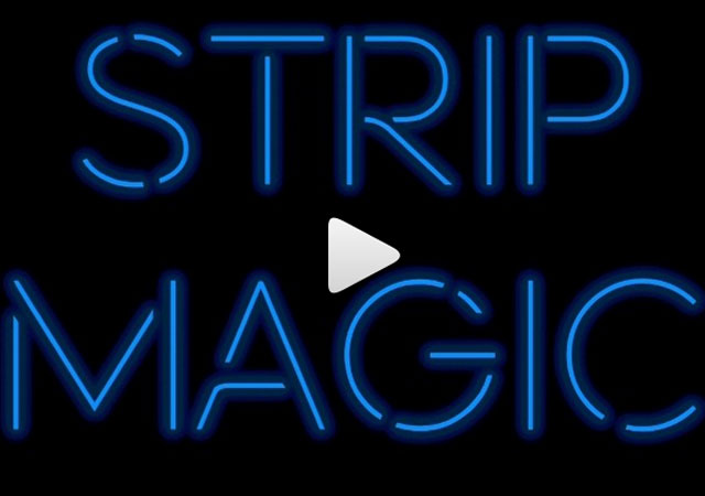 Strip Magic mit Antonio Esfandiari