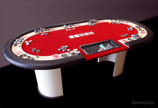 Tischwechsel im Pokerturnier