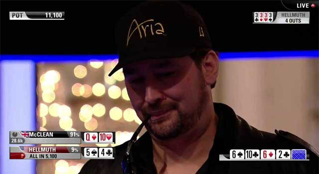 Hellmuth bei der EPT London 2013