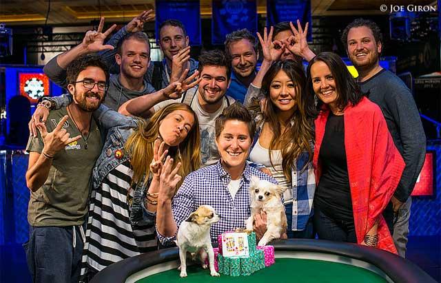 VANESSA SELBST WSOP 2014