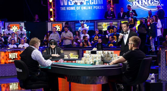 WSOP 2014 Heads Up