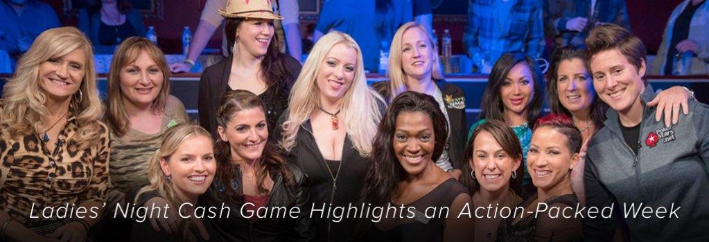 Ausgelassene Stimmung beim der Cash Game Sitzung in der neuste Video Folge von Poker Night in America. Damen Poker