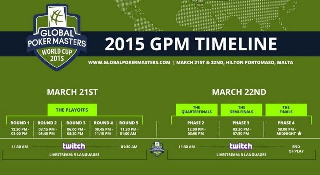 Global Poker Masters Twitch