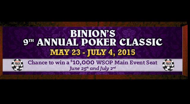 Poker Classic 2015 Binion's