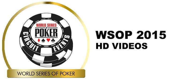 WSOP 2015 Main Event Video