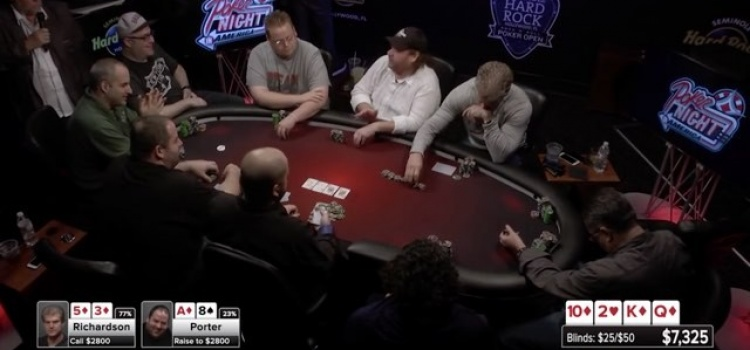 Poker Night in America – Video – A Bunch of Tough Guys