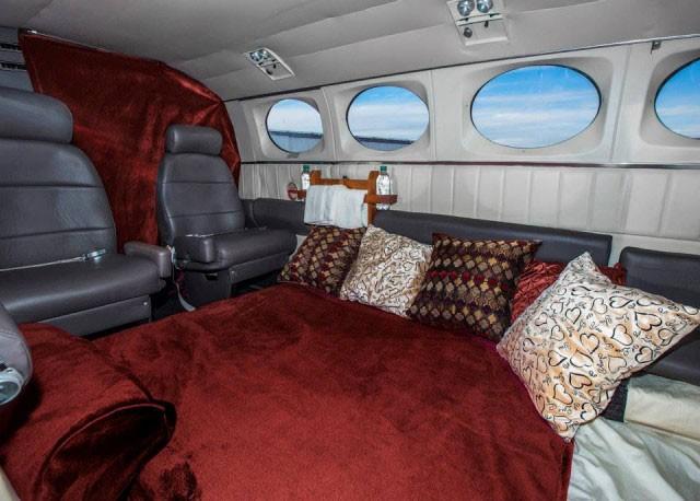 Andy Johnsen Besitzer der Airline Lovecloud in Las Vegas