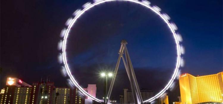Las Vegas Schwindelerregendes Riesenrad eröffnet