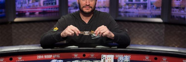2014 WSOP APAC – MIKE LEAH GEWINNT $25K HIGH ROLLER