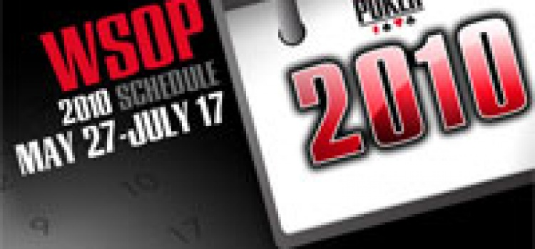 Die Termine der WSOP 2010 stehen fest