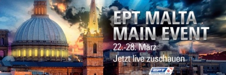 POKERSTARS EPT MALTA MAIN EVENT TAG 2