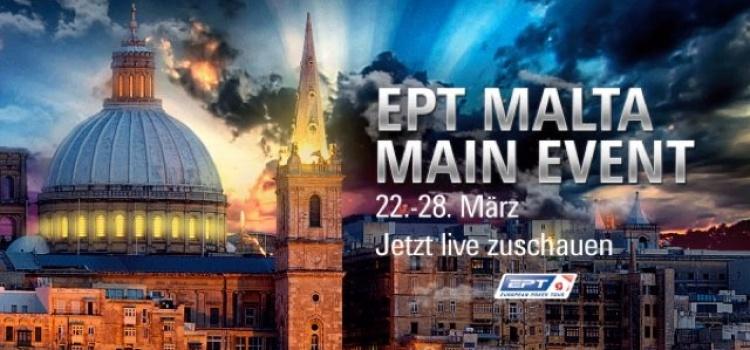 POKERSTARS EPT MALTA MAIN EVENT TAG 2