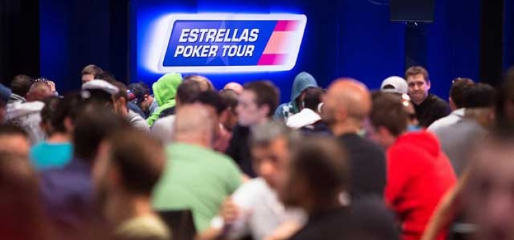 KOMPLETTE CHIPCOUNTS MAIN EVENT ESTRELLA POKER TOUR TAG 1B