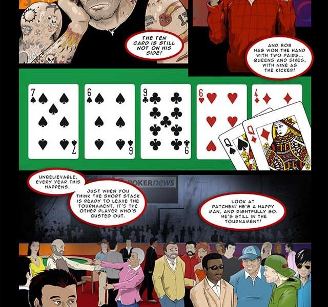 """""""Final 9"""" ein Poker Comic über die High Stakes Poker Welt in Las Vegas."""