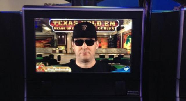 """IGT widmete Phil Hellmuth einen neue Spielautomaten """"Texas Hold'em Heads Up Poker"""""""