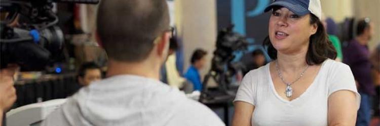 LA Poker Classic: Jennifer Tilly weiter – Mad Marvin raus