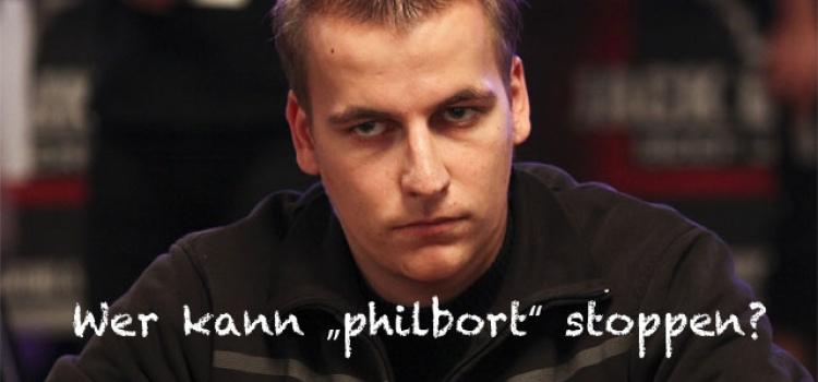 """Philipp """"philbort"""" Gruissem setzt seinen Lauf fort"""