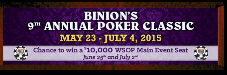 2015 Binion's 9th Annual Poker Classic