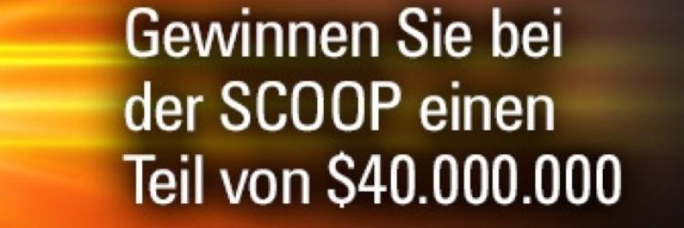GEWINNEN SIE BEI DER SCOOP EINEN TEIL VON $ 40 MILLIONEN