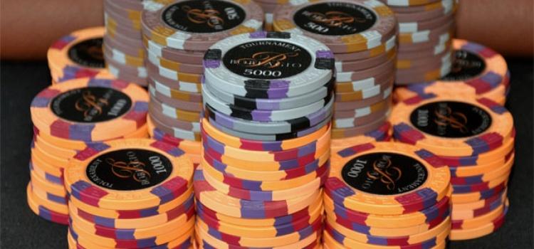 Stackgrößen beim Poker
