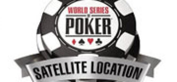 Live Satellite Turniere für die WSOP 2010