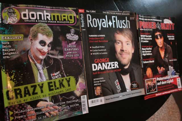 "Neue Poker Zeitschrift ""Donkmag"""