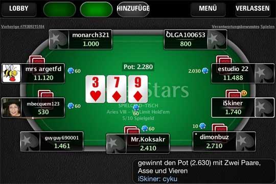 PokerStars: Massig Neues