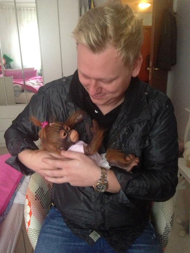Jens Knossalla ist zum ersten mal Vater geworden