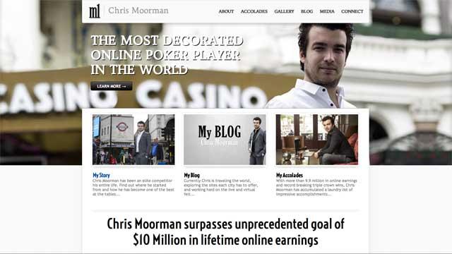 Website von Chris Moorman