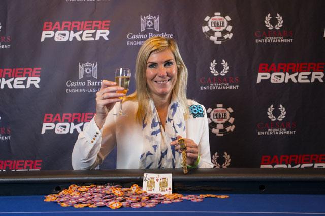Jackie Glazier gewinnt erstes Bracelet