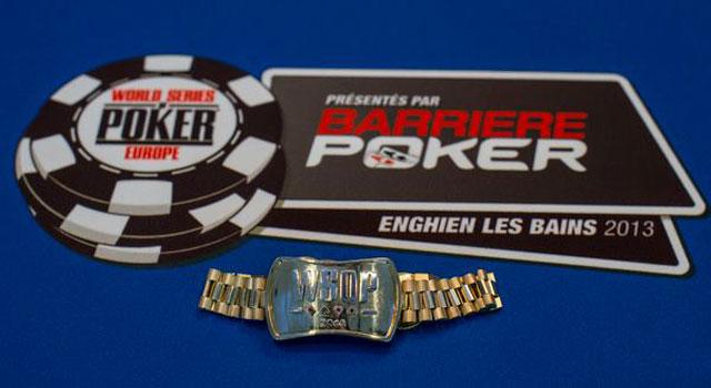World Series of Poker Europe im Barriere Casino