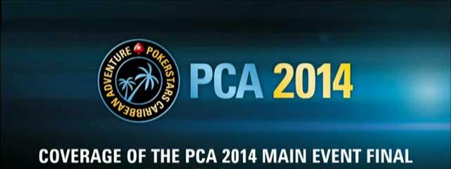 Das Video vom $10.300 Main Event der PCA 2014  in voller Länge