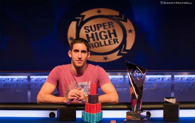 Daniel Coleman gewinnt das Super High Roller Event