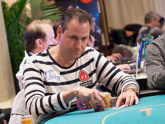 Eric Afriat ist Chipleader bei der WPT World Championship