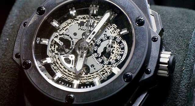 Der Sieger der WPT World Championship 2014 erhält zusätzlich zum Preisgeld eine Hublot King Power Unico Watch