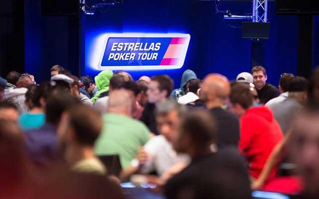 KOMPLETTE CHIPCOUNTS MAIN EVENT ESTRELLA POKER TOUR TAG 1B