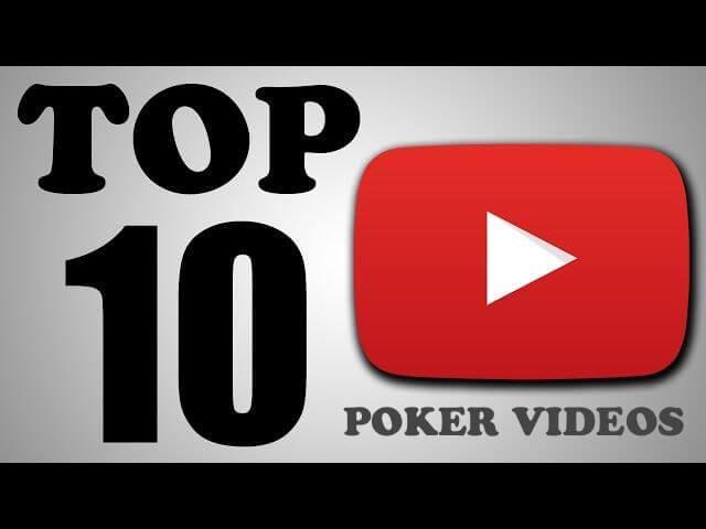 Top 10 Poker Videos