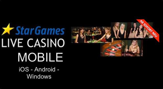 Live Casino bei Stargames für Mobile