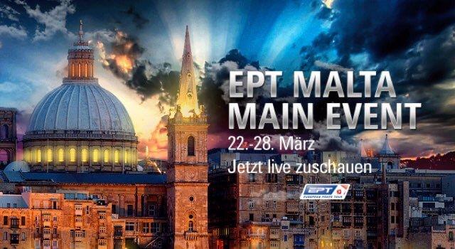 EPT Malta MAin Event Live Stream