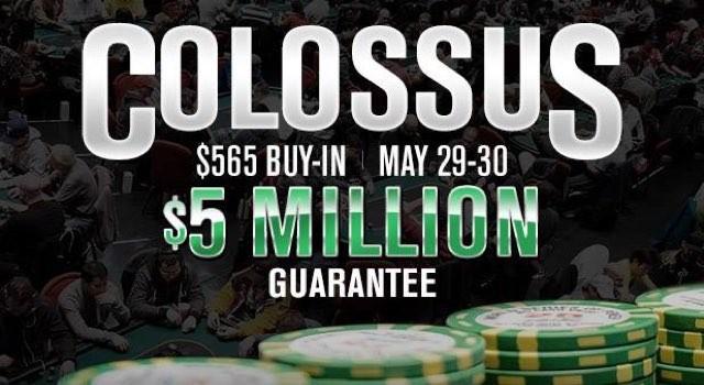 WSOP 2015: COLOSSUS EVENT DAS REKORDTURNIER?