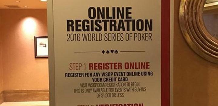 WSOP 2016 FASTRAC